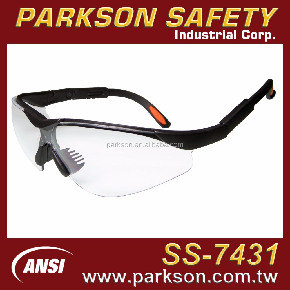 PARKSON SAFETY Taiwan Dentist Use Adjustable Length One Piece Safety Google ANSI Z87.1 SS-7431
