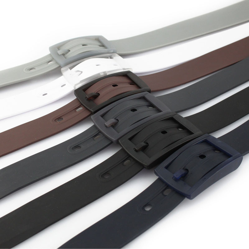 Top Quality Wholesale Fashion Silicone Man Belt