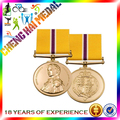 Factory Directly Cheap Gold Plated Metal Custom Military Medals