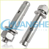 china supplier grade 8.8 high tensile galvanized expansion bolt