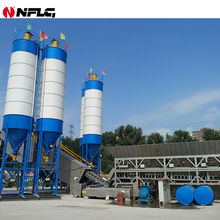 New designed factory price mobile ready mix plant batching from China for great sale
