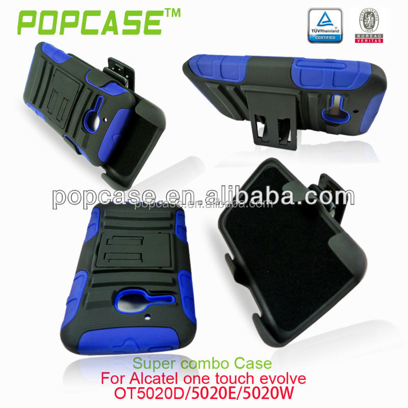 china supplier Belt clip cell phone case for Alcatel