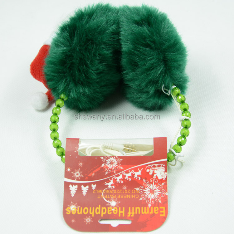 whosale Christmas headphone earmuff