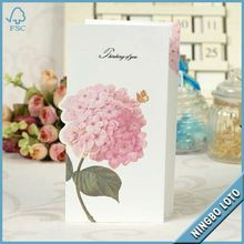 Total quality controlled three-dimensional greeting cards