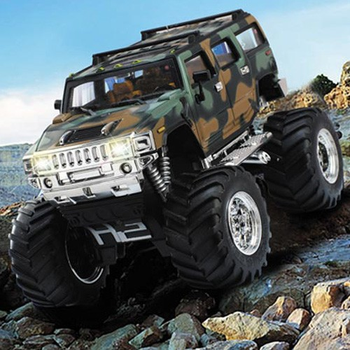 EN71 mini electric plastic rc damping hummer remote control trucks for kids