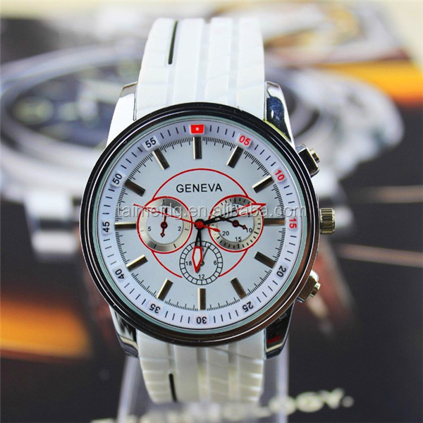 China suppliers attractive style silicone jelly watch