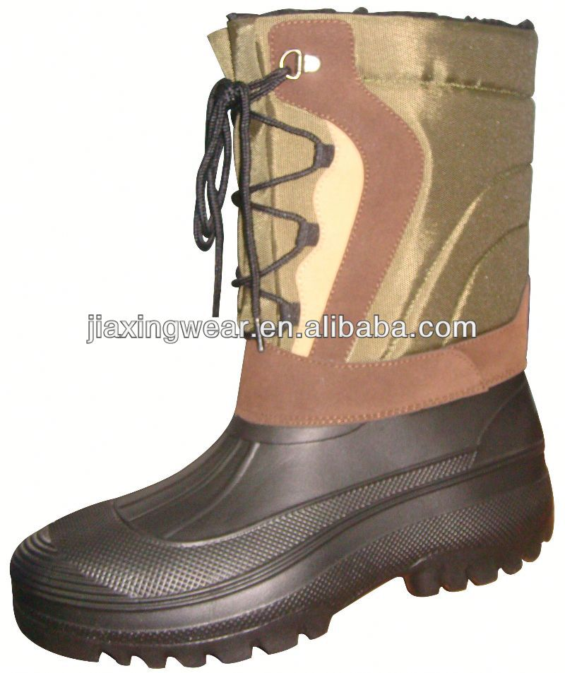 New Injection canadian fur boots for outdoor and promotion,light and comforatable