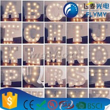 LED Marquee Letter Lights Alphabet Light Up Sign for Wedding Home Party Bar Decoration