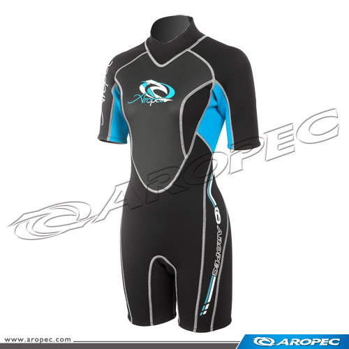 Climax Lady 3mm Neoprene diving shorty Wetsuit