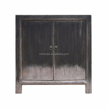 chinese antique black cabinet made in recycled wood