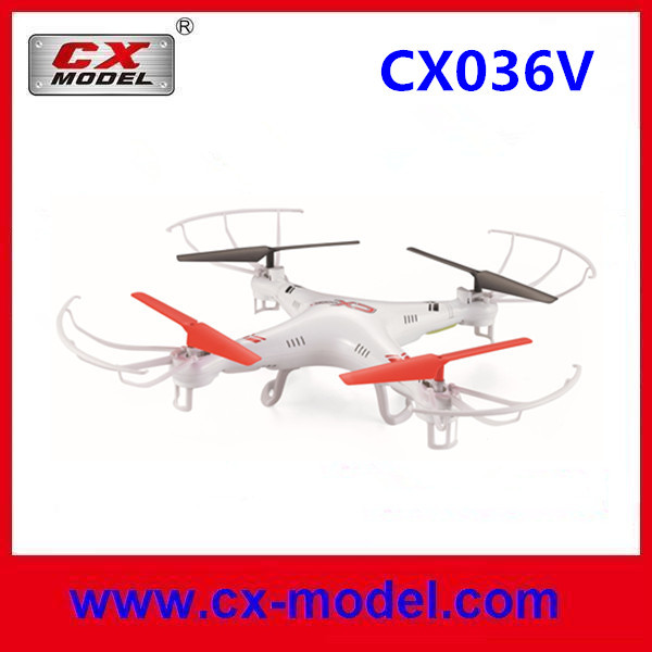 CX036 Shock listed! 2.4G 4CH RC quadcopter toys with flashing LED lights 3D filps drone helicopter