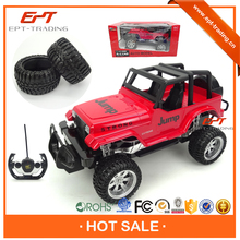 Hot item 1 12 scale 4 channel rc model cross-country car toy