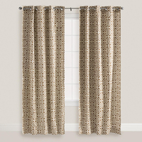 New arrival Italian half window cotton printed curtain imported from China
