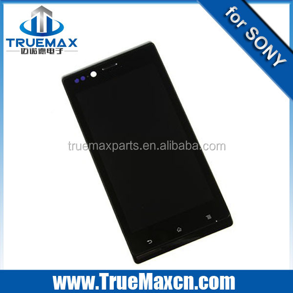For sony xperia j st26 touch screen digitizer ,lcd display screen for xperia j st26