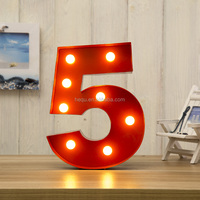 Christmas light marquee letters ,fashion marquee led lights ,Decorative Wall Art number led lights