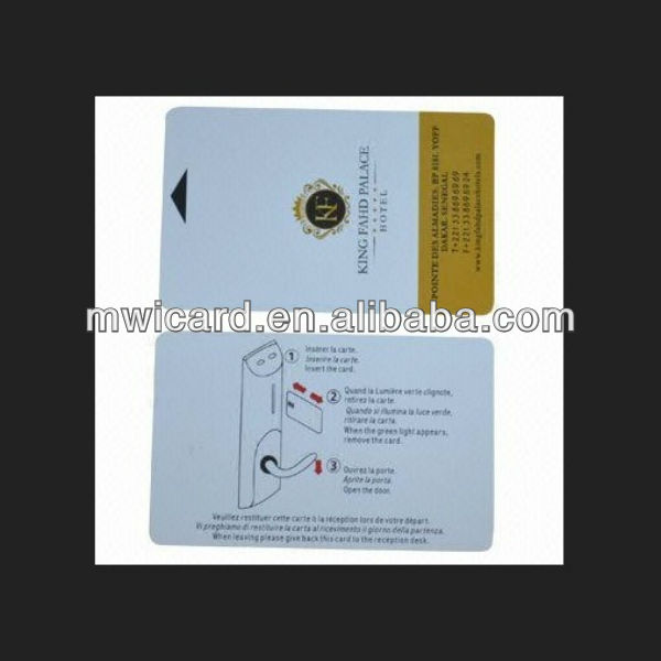 Door Lock Contact IC Room Cards Key Cards,T5577 Security Key Card Access