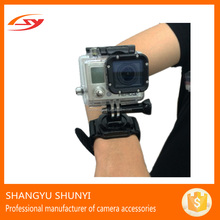 Chest Mount Go pro 360 Degree Rotation Wrist Hand Strap Band For Sports Camera