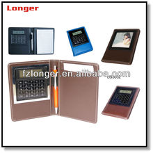 promotional leather organizer calculator LG3023