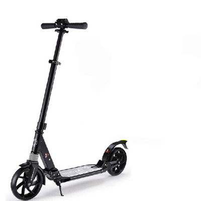 top sale big wheels 230mm double suspension adult kick scooter for wholesale