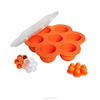 Baby Food Freezer Trays with Lids - Non Stick Silicone - for Freezing and Storing - Purple Color