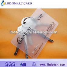 Transparent Plastic Business Cards Printed