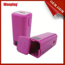 portable power bank mobile phone charger 2000ma use for worldwide