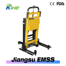 electric connecting wheelchair stair climbing vehicle