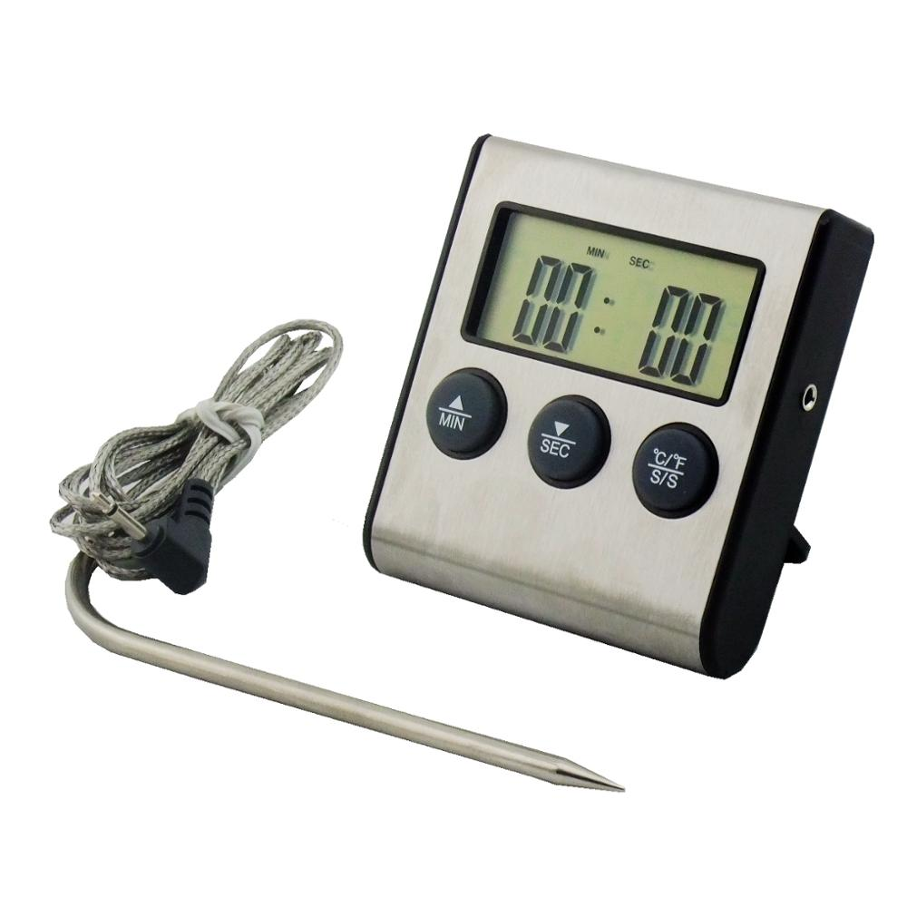 2018 Digital Thermometer For Measure Hot Water <strong>Temperature</strong> & Countdown Kitchen Timer DTH-24