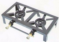 Various industrial gas stove for cooking