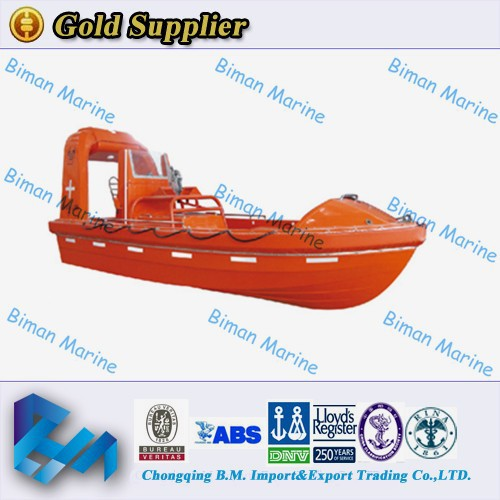 Marine Supplies Boat RINA 9 Person Water Rescue Boat On Market