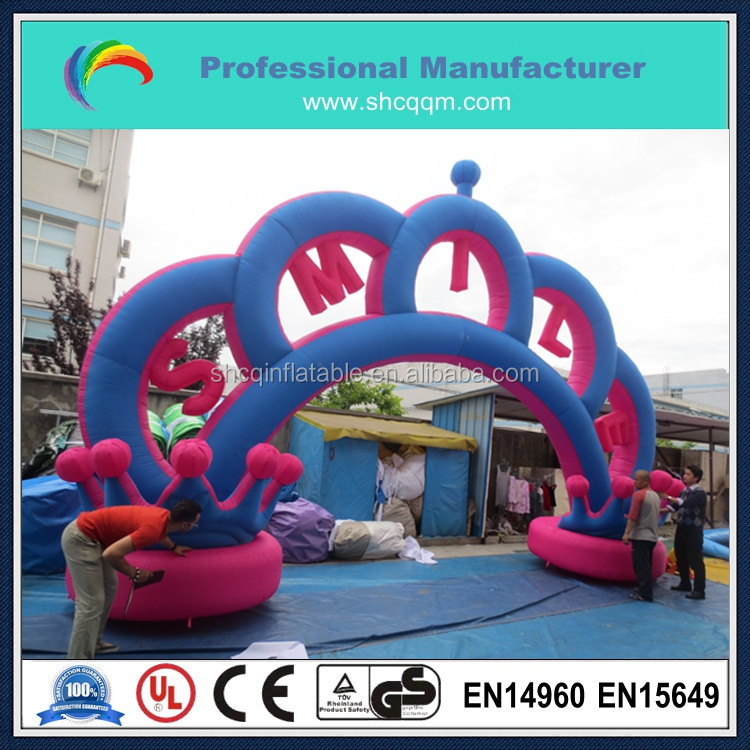 inflatable arches for amusement park/inlatable arch for event