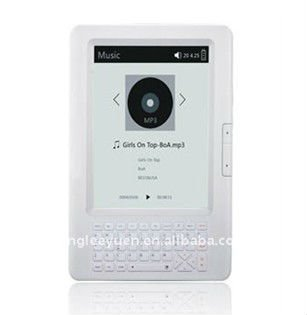 "the newest 6"" E-ink book Reader with Samsung CPU,4GB,WIFI function"