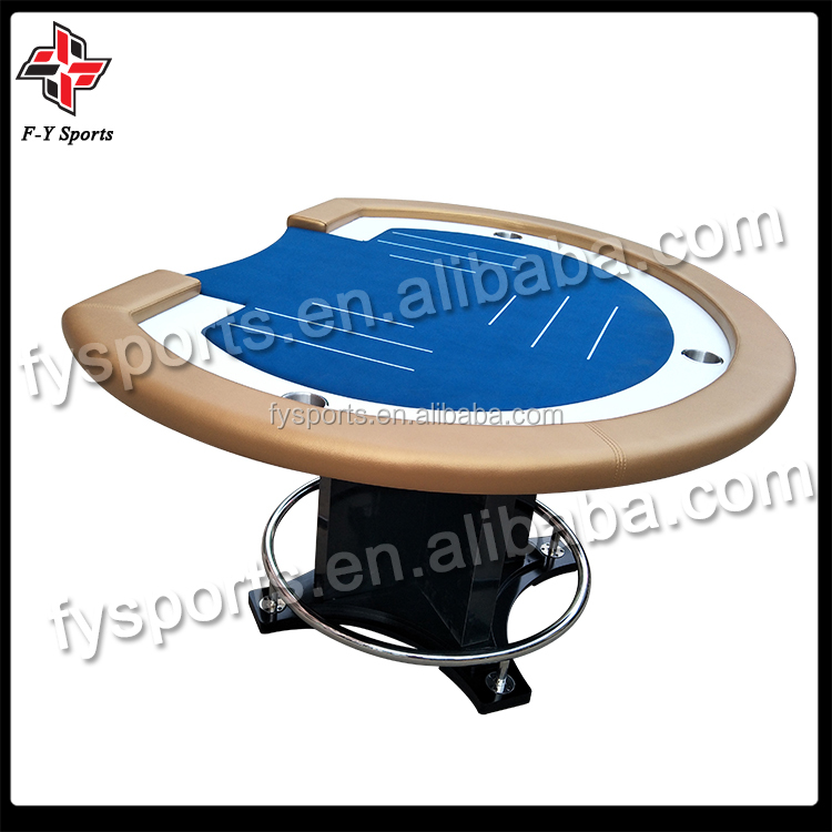 pineapple poker table luxury tournament poker table/customized table/oval table