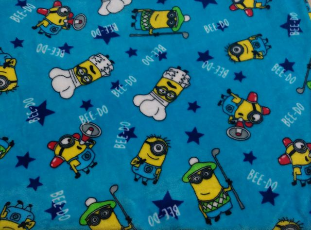 Custom Design Printed 100% Polyester Flannel Fleece Fabric For Pajamas