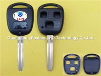 Remote Key Shell fit for TOYOTA Yaris Avensis 3 Button Case Fob Toy43