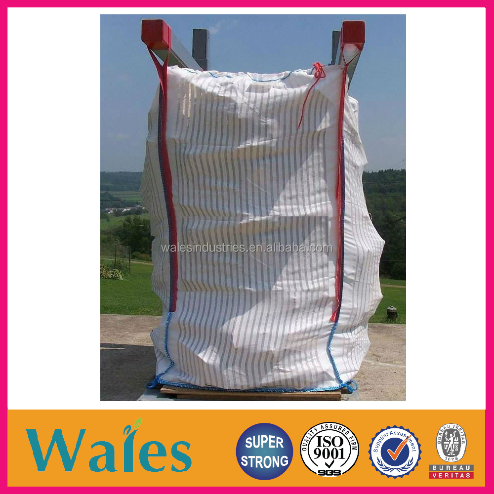 90 x 90 x 180 cm breathable ventilated bulk bag for potato and onion