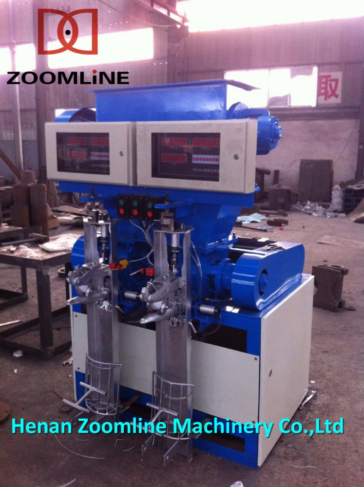 2 nozzles Cement packaging Equipment/ Cement Packing Machine Filling bags