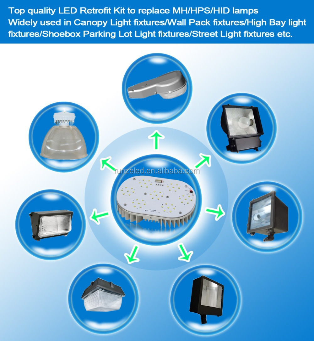 UL/cUL meanwell driver 8 years warranty retrofit led daylight recessed lighting with ETL/cETL/CE/RoHS Approval