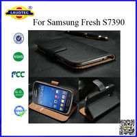 Genuine Leather Case for Samsung Galaxy Fresh S7390 Case