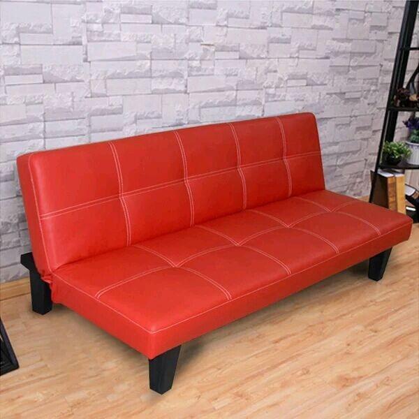 Faux Leather Sofa Bed Single Seat Sofa Bed Folding Single