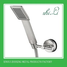 Bathroom Accessories Stainless Steel Shower Holder With Suction Cup