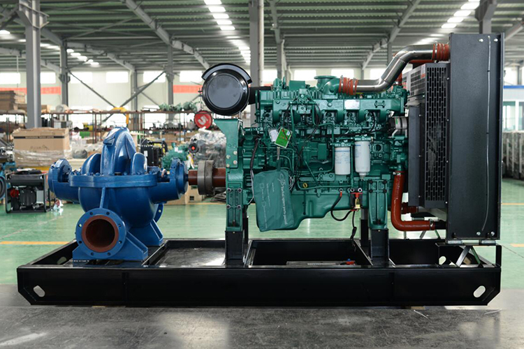 fuel pump iso9001 certificate approved diesel generator set