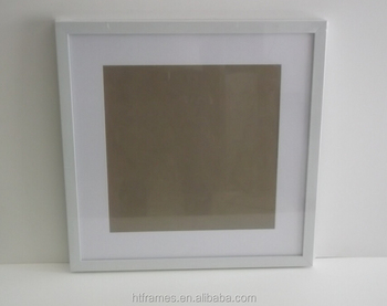 custom do 20x20 16x16 white square picture frames - White Square Frames