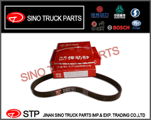 EURO III engine Triangle Belt VG1500090066 6PK-783 FOR original hight quality Sinotruck Howo spare parts