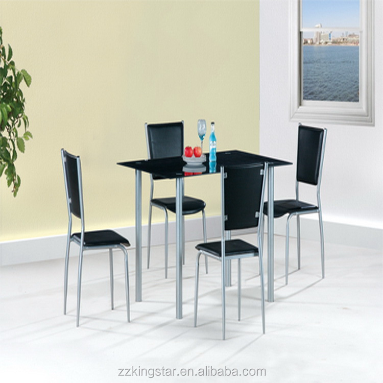 2016 Alibaba Furniture Dining Table With Glass Top Designs