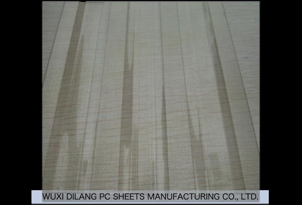 Uv Protection Transparent Fiberglass Composite Plastic Grp