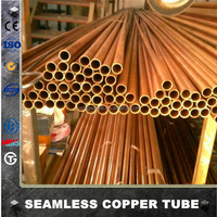 ASTM B280 REFRIGERATION STRAIGHT COPPER PIPE/TUBE