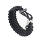 Multifunctional Hand Ring Braided Adjustable Infinity Paracord Bracelet
