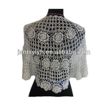 Pretty Hollow-out Women Knitting Shawl