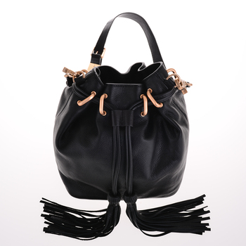 black leather shoulder bag women designer handbags